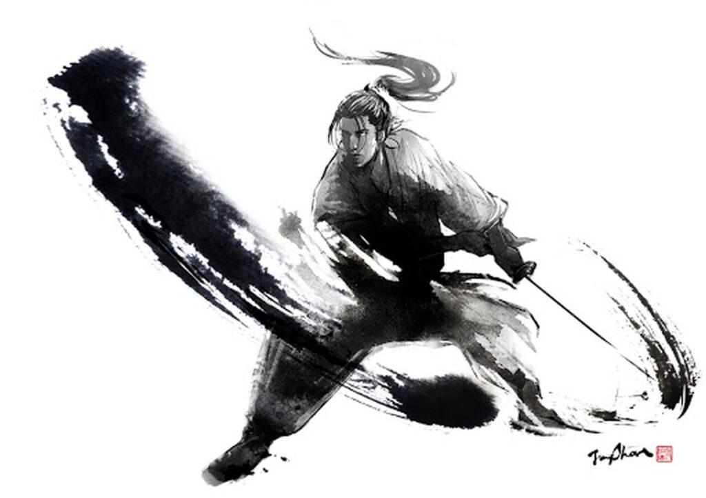 Samurai kaks mõõka. 2 energeetilise kaitse liiki. Tugeva biovälja tunnused